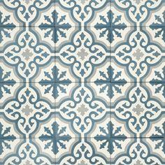 Voltaire - monsun, 15 x 15 cm - Collection Arabian Pattern, Painting Tile Floors, Kitchen Backsplash, Backsplash Ideas, Marrakech, Storage Spaces, Tiles, Stamp, Flooring
