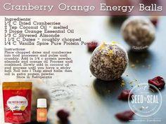 Young Living Essential Oils: Cranberry Orange Recipe