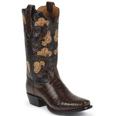 Tony Lama Men's Signature Crocodile Exotic Boots