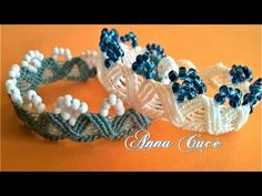 "Tutorial macramè bracciale ""Grace""/ Tutorial macrame bracelet ""Grace""/ Diy tutorial - YouTube"