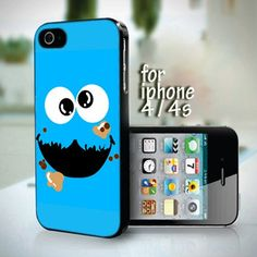 Cookie Monster Smile 4 design for iPhone 4 / 4s case