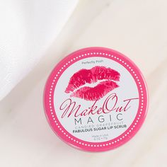 Make Out Magic Lip Scrub | Perfectly Posh Made in USA $5 shipping on every order no matter the size! #valentinesday #gifts for her #pamperyourself always buy 5 get the 6th free !!!!