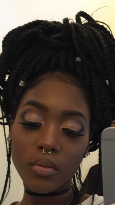 Touch Me With No Hands Hold Me With Your Eyes — brown-medusa: Sis, get into this look