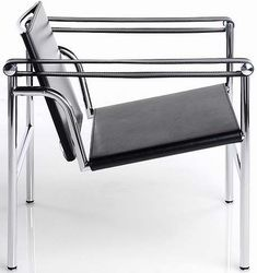 Chair Corbusier modern bauhaus classic clean shiny cool