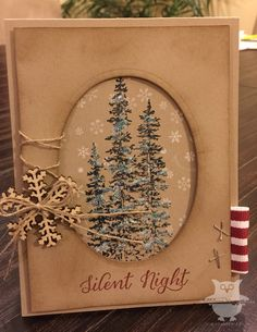 Dani's Thoughtful Corner - Stampin' Up! Christmas Card.