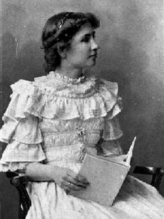 This is a picture of Helen Keller getting taught to read Braille. I think my person would pin this because she always tried her best and she wanted to succeed.