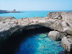 Adriatic Sea, Roca Vecchia, Italy