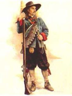 Musketeer Earl of Manchesters Regiment by Chris Collingwood.