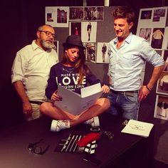 Chiara Nasti #testimonial #maisonespin #fw14 #collection #lovely #backstage #madewithlove #fabiocastelli #mariogramegna