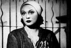 mudwerks:Film Noir Photos: Inside Looking Out: Ladies Behind Bars 4 Zarah Leander in Zu neuen Ufern (1937)