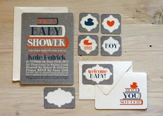 Custom Printable Book Theme Baby Shower Package by chalkanddot