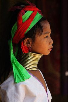 Padong girl, Doi Maesalong, Thailand
