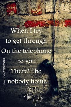 Pink Floyd The Wall, Nobody Home