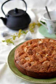 Pear and Cottage Cheese Cake
