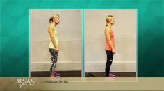 Har du också dålig hållning och lider av gamnacke, efter för mycket hängande över mobilen, läsplattan och datorn? Ann-Sofie Frick fick bättre hållning och mindre ont i ryggen efter fyra veckors träning.