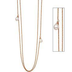 Dreambase Damen-Halskette 925 - Sterlingsilber Silber 1 Perle 90 cm 2.6 mm Karabinerverschluss Dreambase http://www.amazon.de/dp/B0147RXF1M/?m=A105NTY4TSU5OS