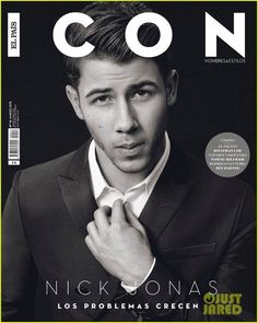Nick Jonas by Michael Schwartz para ICON Hombres & Estilos. Nick Jonas, Cover Male, Cover Boy, Ben Barnes, Jonas Brothers, Elle Style Awards, Fashion Tape, Fashion Brand, Just Jared
