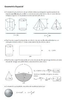 Geometria Espacial II