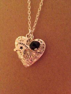 I Love My Deputy Sheriff Heart...want one!!!