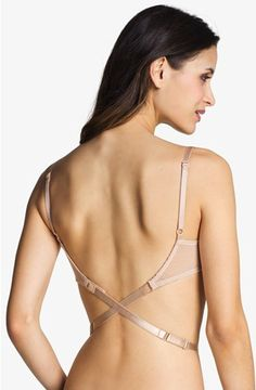 2cd55e3b6a Nordstrom Intimates Low Back Strap Bra Attachment available at Nordstrom - Backless  Dresses !
