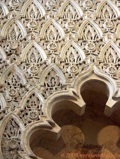 Detalles de la Sinagoga Principal, Calle Judios, Juderia, Cordoba, España, Andaluzia