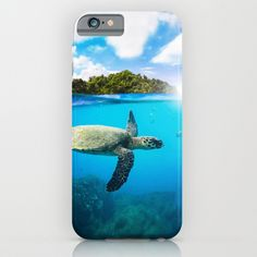 Tropical Paradise Case #turtle #ocean #sea #marinelife #diving #iphone #case