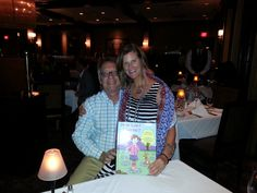 It's for real!  The First Proof of the Book arrived - followed by a celebration at Ruth's Chris Steakhouse! God is good!