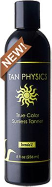 Tan physics true color sunless tanner new