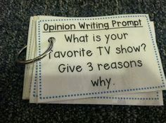 Team J's Second Grade Fun: Opinions, Opinions, Opinions