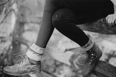 ladies boots & socks & tights