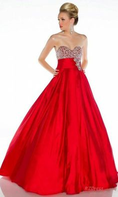 Red Prom Dresses: short red prom dress & a long red prom dress ...