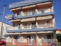 Agni #Hotel (#Sarti #Beach, #Halkidiki #Görögország) #greece #szállás #apartman #sithonia Apartments, Mansions, House Styles, Beach, Home Decor, House, Decoration Home, Manor Houses, The Beach