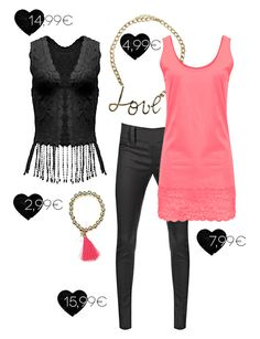 Combine Neon with black for a fresh new look!  mycolloseum.com