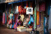 India reis typische markt