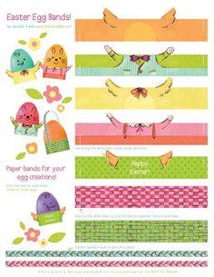 free Easter egg bands
