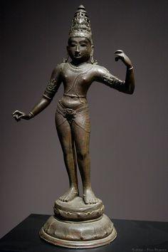 India,11th cent.  The  Divine Hero  (Rama o  Lakshamana)