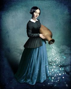'Midnight Sky' by Christian  Schloe on artflakes.com as poster or art print $20.79