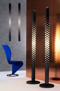 Beautiful Lighting design ideas by British Designer Tom Dixon Interior Lighting, Lighting Design, Futuristic Lighting, Retro Futuristic, Tom Dixon Lighting, Rustic Floor Lamps, Blitz Design, Bollard Lighting, Luminaire Design
