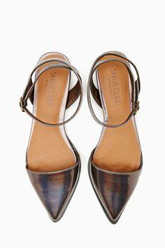 Shoe Cult Heir Flat - Pewter