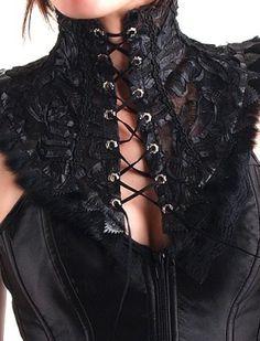 Punk Rave My Kingdom come GOTHIC SHIRT VOLANT CAMICIA gothic camicia Vittoriano