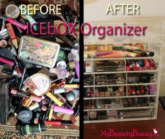 My Makeup Storage Miracle – ICEbOX