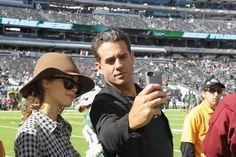 Pin for Later: No Red Carpet Is Stylish Enough Until Rose Byrne and Bobby Cannavale Arrive When They Took a Selfie, They Mastered Their Angles
