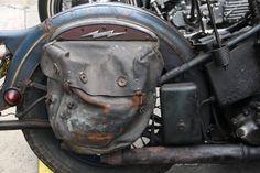Old saddle bag