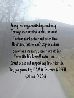 are truck drivers faithful