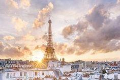 Paris Photography After the Storm Paris Eiffel by GeorgiannaLane