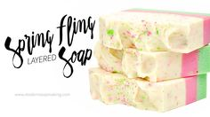 A layered soap design gives you a lot of options for handmade soap. This tutorial rocks out layering and embedding to make the most of soap waste: scraps!