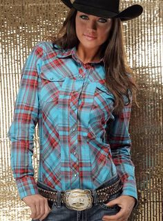 Cruel girl plaid rodeo western barrel arena performance shirt cowgirl nwt m Moda Country, Country Wear, Country Girls Outfits, Country Girl Style, Country Women, Country Fashion, Cowgirl Outfits, Western Outfits, Western Wear