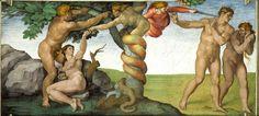 Mainstreammedien berichten ernsthaft über Reptilianer The Falling Man, Miguel Angel, John Milton Paradise Lost, Lost Paradise, Hans Baldung Grien, Michelangelo Paintings, Adam Et Eve, Sistine Chapel Ceiling, Bad Comics