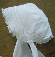 Lovely Antique Baby Bonnet Christening