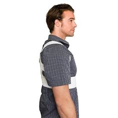 ChoiceMMed Shoulder Posture Corrective Therapy Back Support Brace with Magnets (X-Large)